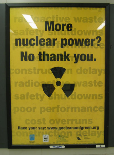 nuclear power is not the answer Is nuclear power a solution we can afford  nuclear plants -- which do not emit  carbon dioxide during operation -- currently generate about 20.
